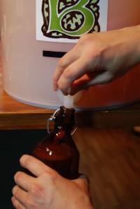 瓶詰め作業